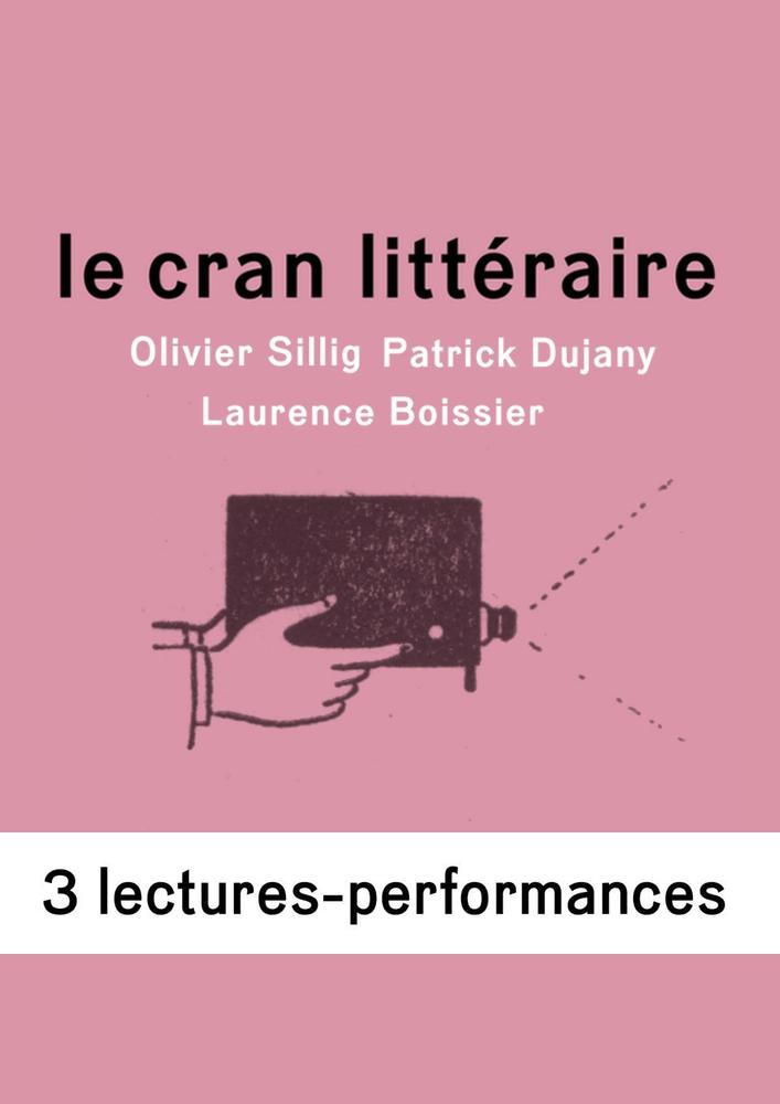 Le Cran littéraire <br>avec Oliver Sillig, Patrick Dujany et Laurence Boissier