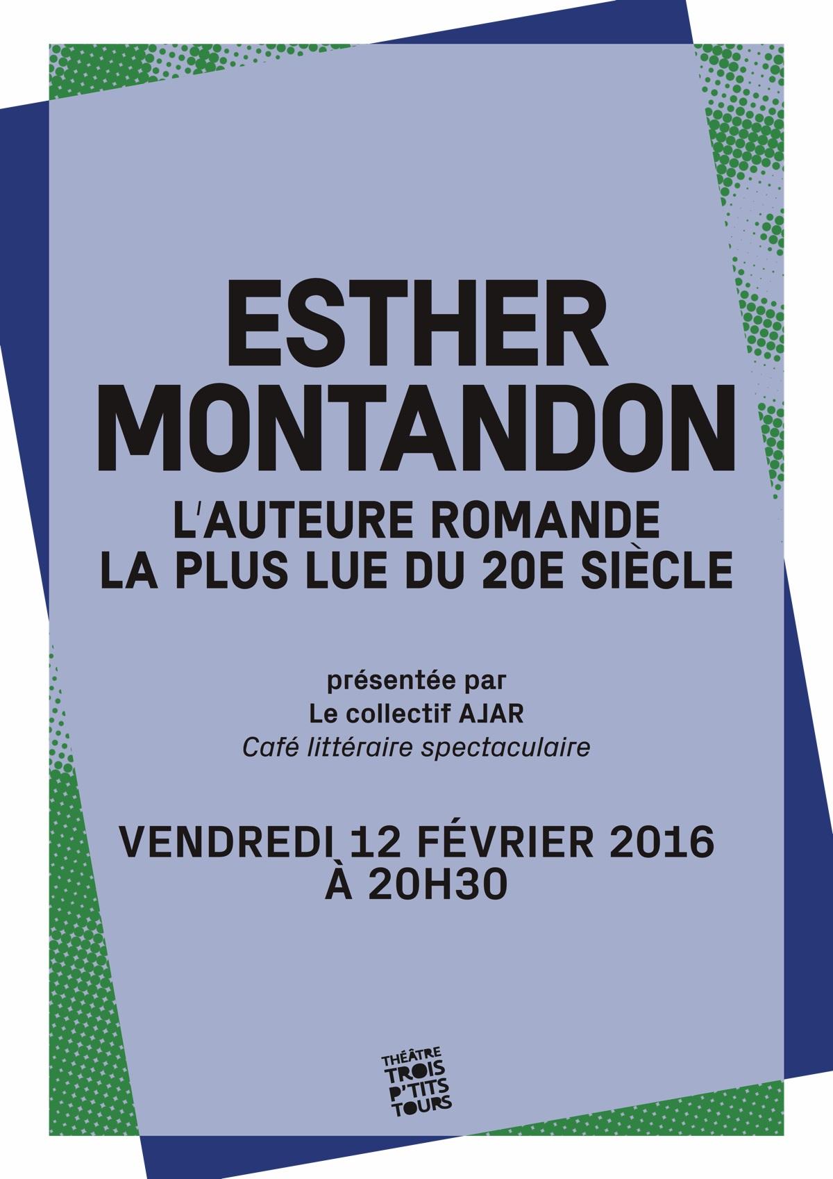 Esther Montandon, l'auteure romande la plus lue du XXe siècle