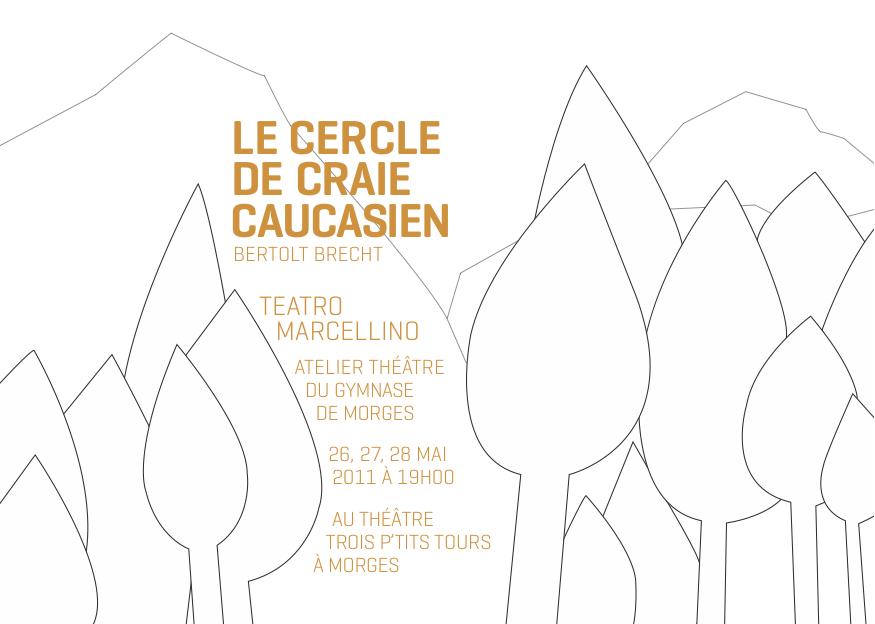 Le cercle de craie caucasien