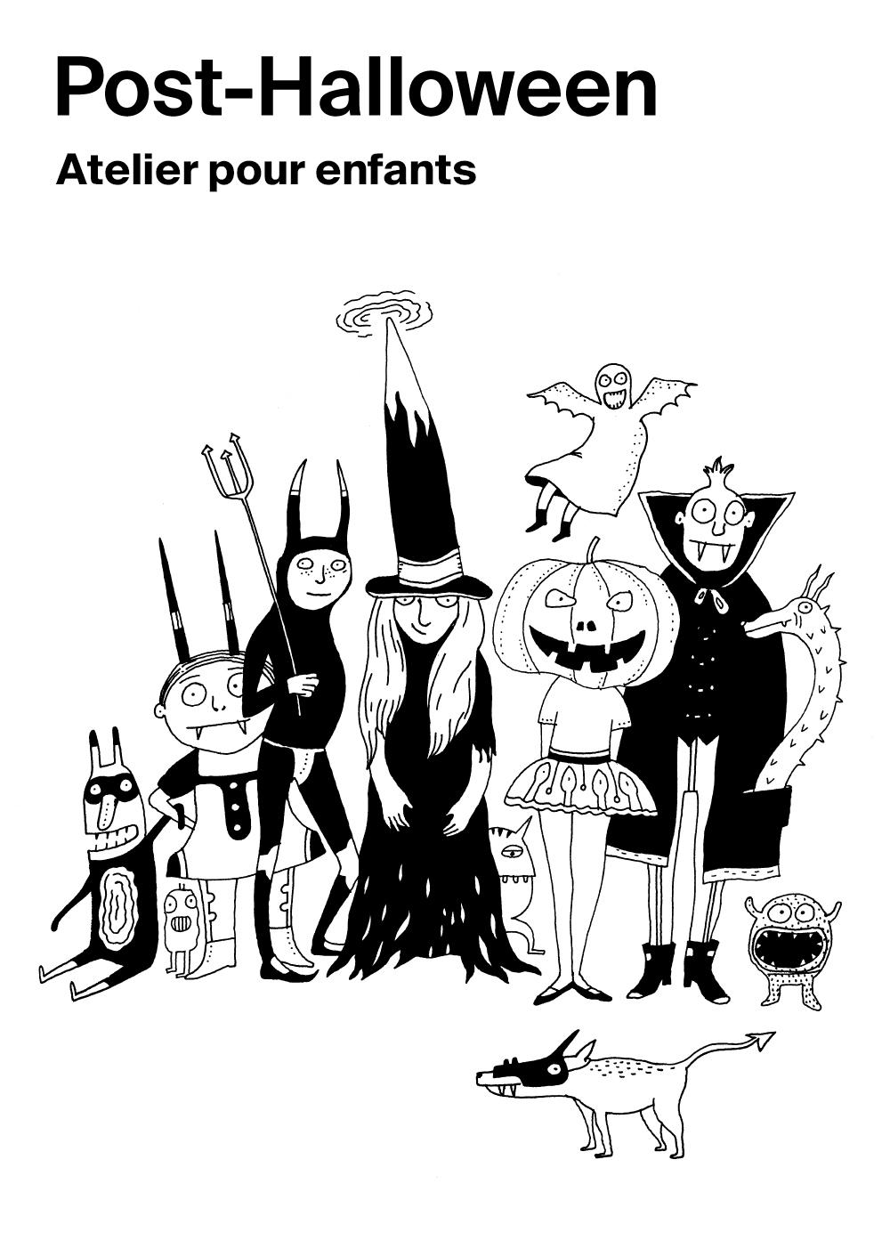 Prologue n°5: Post-Halloween – atelier pour les 5-10 ans