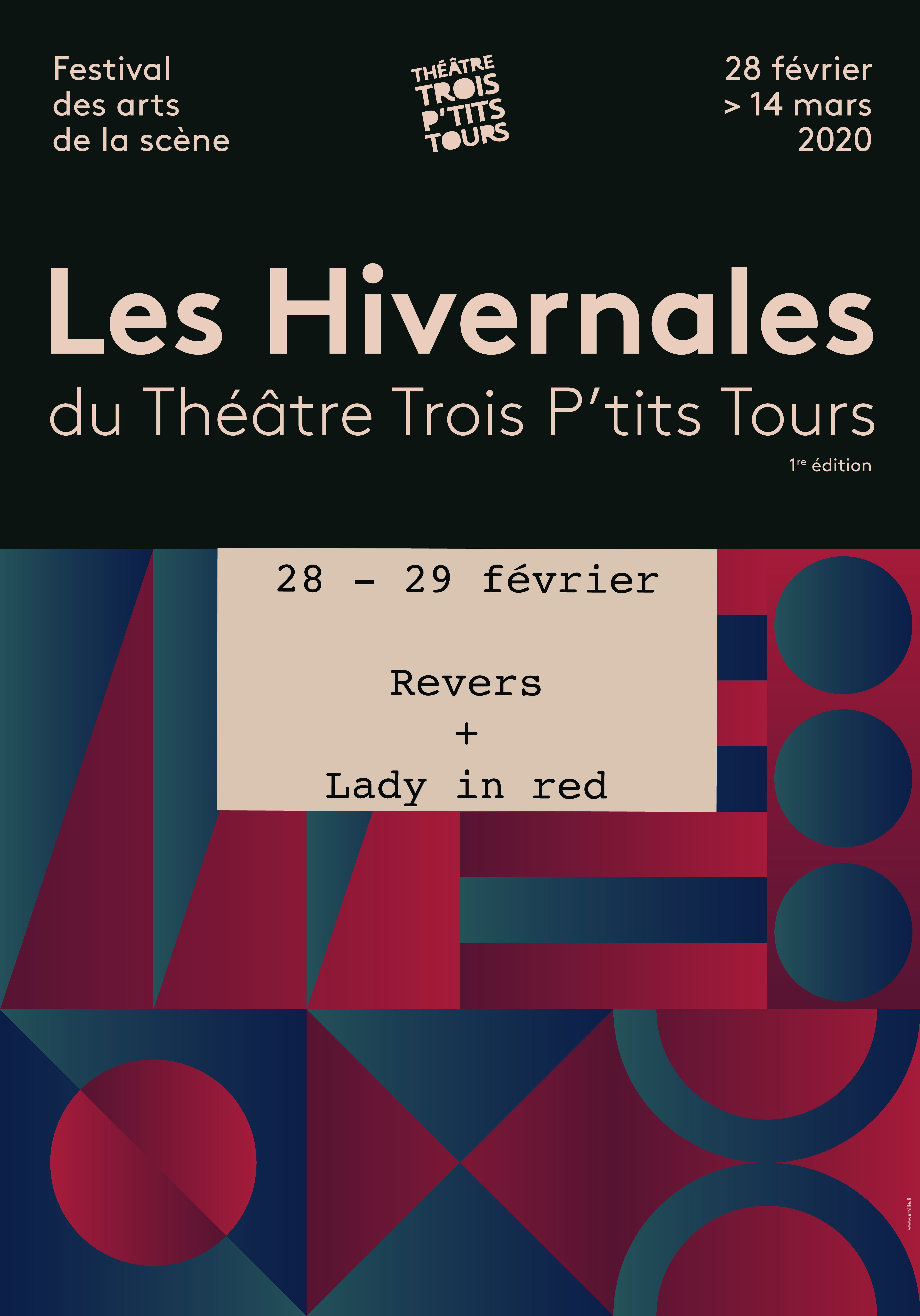 Les Hivernales: Revers + Lady in red